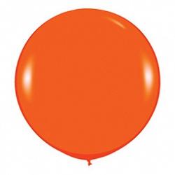 Шар (36''/91 см) Оранжевый (061), пастель