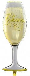 Шар (41''/104 см) Фигура, Бокал шампанского, 1 шт.