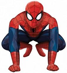 Шар (37''/94 см) Ходячая Фигура, Человек-паук, 1 шт.