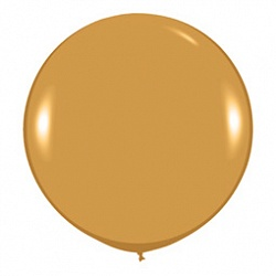 Шар (36''/91 см) Золото яркое (570), металлик