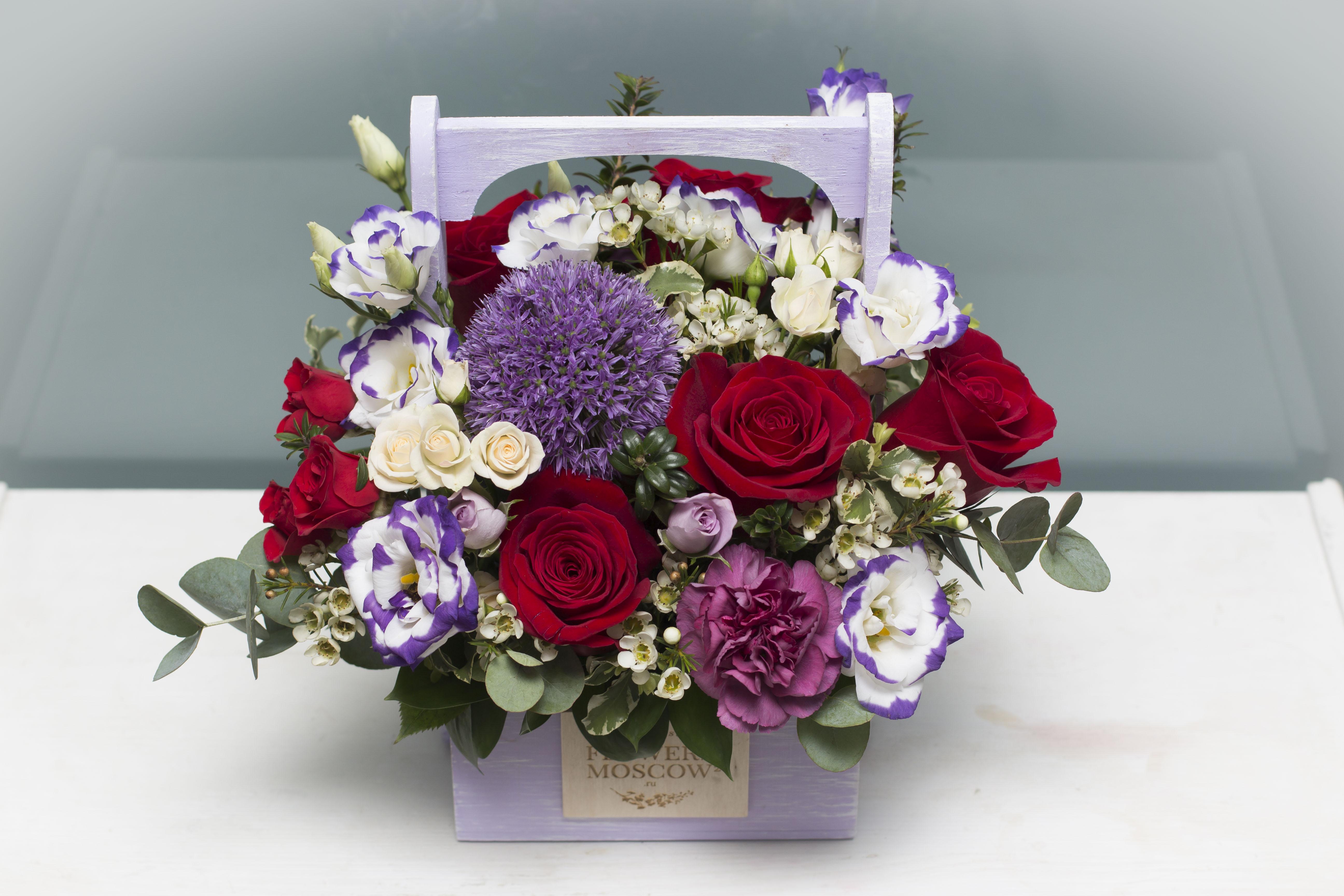Цветы в ящике Elegance №270