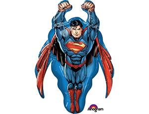 Шар фигура Супермен летящий 78 см