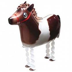 Шар (25''/64 см) Ходячая Фигура, Лошадь, 1 шт.