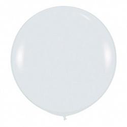 Шар (36''/91 см) Белый (005), пастель