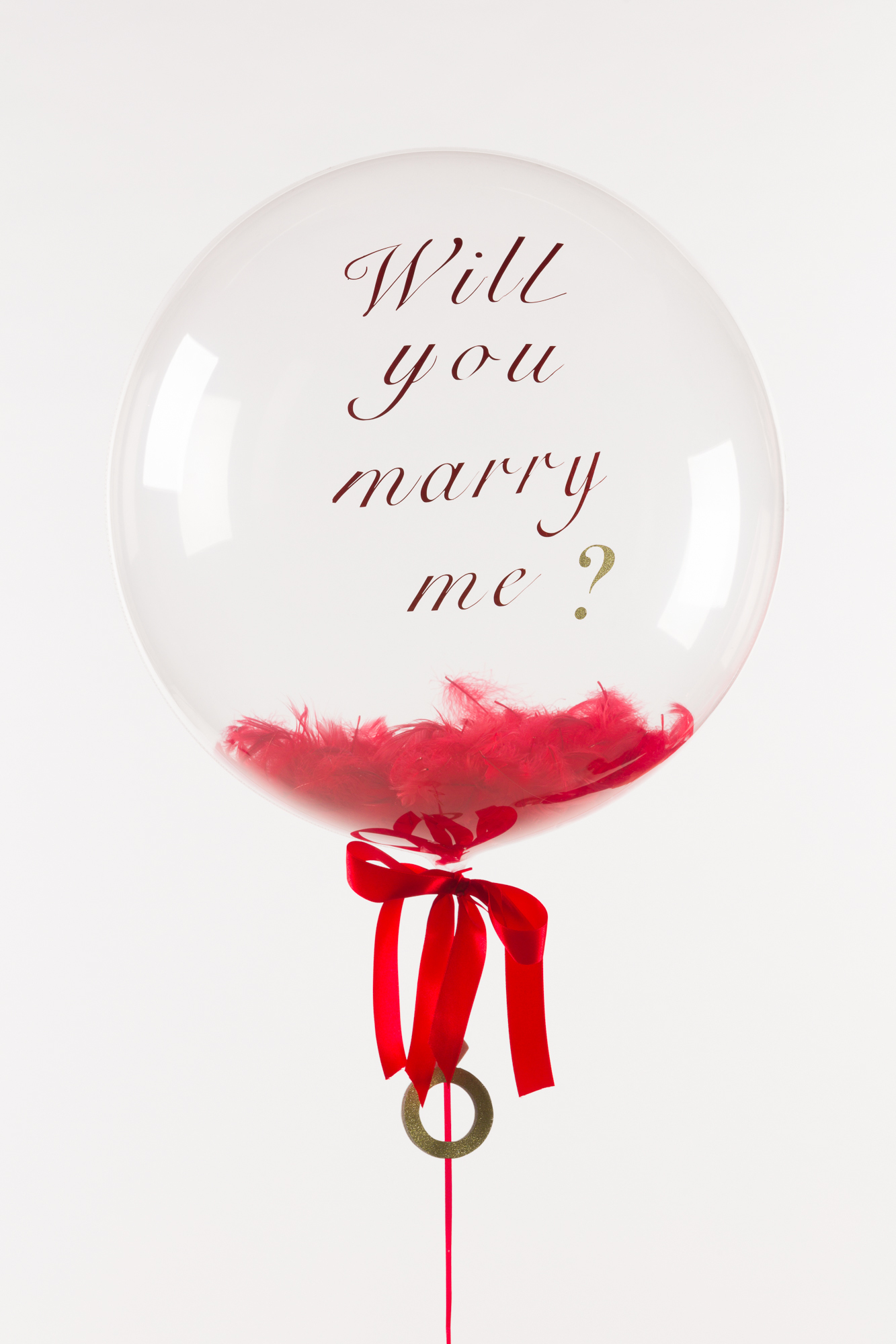 БАБЛС 60СМ Will You Marry Me?