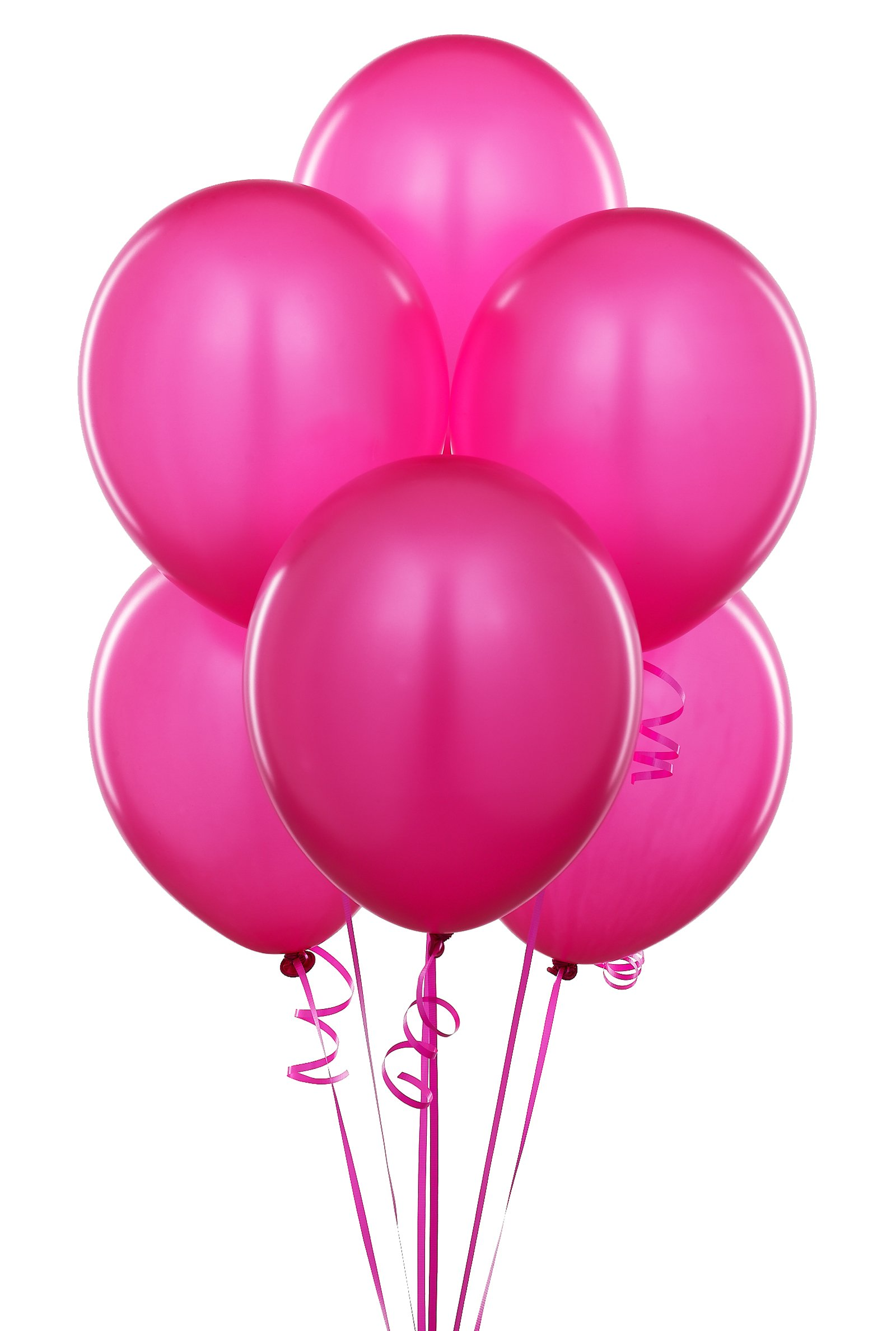 Облако из розовых шаров