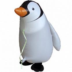 Шар (24''/61 см) Ходячая Фигура, Пингвин, 1 шт.