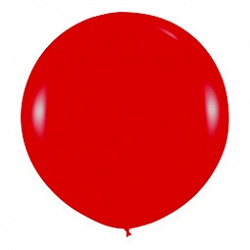Шар (36''/91 см) Красный (315), кристалл