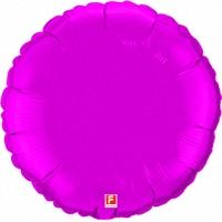 Шар (18''/46 см) Круг, Сиреневый, 1 шт.