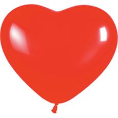 Сердце (12''/30 см) Красный (015), пастель, 1 шт.