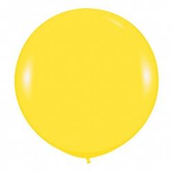 Шар (36''/91 см) Желтый (020), пастель