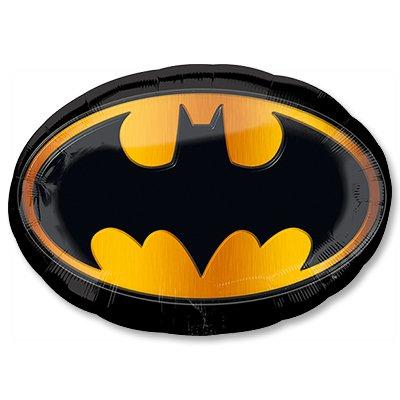 Шар фигура Бэтмен эмблема 90см