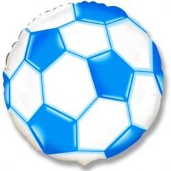 Футбольный мяч (Cиний)